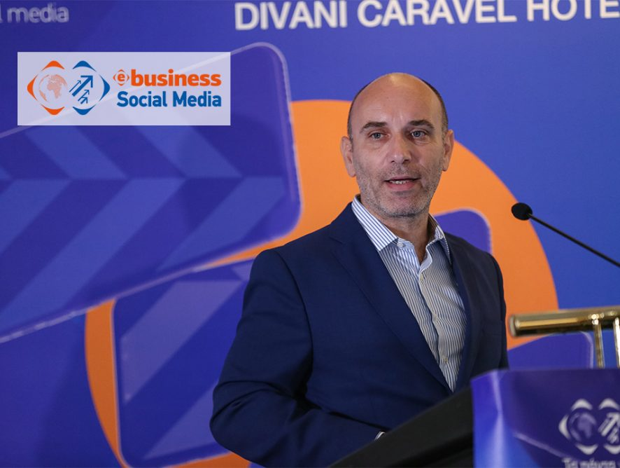 O Θανάσης Καμέας, CEO της Plushost για το Mobile Commerce στο συνέδριο 9o e-Business World