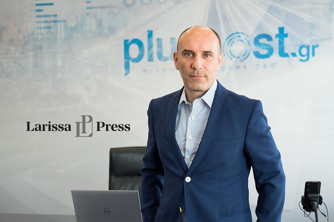 Ο Θανάσης Καμέας founder και CEO της Plushost στο Larissa Press